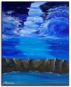 """Blue Skies"" 14"" x 18"" Part of the Ramirez Collection"