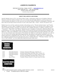 Microsoft Word - Artist Full Resume 2019 final draft.docx